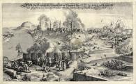 Buda ostroma, 1686, rézmetszet és rézkarc