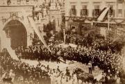Diadalkapu I. Ferenc József pécsi látogatása alkalmából, 1891