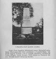 Az emlékmű képe 1940 körül, a Somogyi betyárvilág című könyvben
