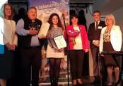 Az Év Tájházvezetője-díj átadása