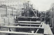 A Millenniumi Földalatti Vasút építése