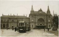 A régi indóház helyén 1901-ben, Pfaff Ferenc terve alapján épült fel a mai főpályaudvar (Pécs)