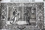 Gábriel megjövendöli Keresztelő Szent János születését Zakariás papnak