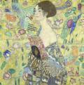 Gustav Klimt: Nő legyezővel