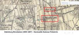 A harmadik katonai felmérés térképén Rácörspusztától északkeletre látható az Örsi csárda helye is, ahol az összecsapás történt.