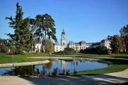 Helikon Kastély belső parkja
