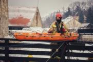 Hunor mentőcsapat az Egri Várban
