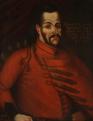 Ismeretlen művész: I. Rákóczi Ferenc arcképe. 17. század vége. Olajfestmény