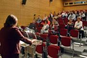 Az előadás résztvevői
