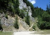 Királykő-hegység, Zernyesti-szoros