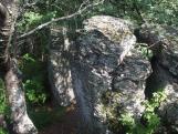 Komlóska Szkalka sziklák