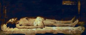 Krisztus a sziklasírban
