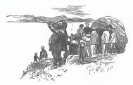 Kilátás a Várhegyről (Mühlbeck Károly festőművész, grafikus illusztrációja)
