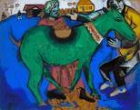 Marc Chagall: A zöld szamár (1911)