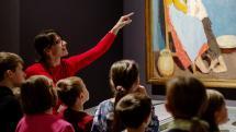 Festményekkel a világ körül - Tárlatvezetés gyerekeknek