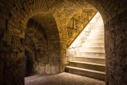 Kazamaták bejárata (Monostori Erőd)