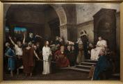 Munkácsy Mihály: Krisztus Pilátus előtt, 1881\r\n
