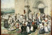 Nagyboldogasszony búcsú, Bélapátfalva, 1890 körül