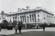 Az Osztrák-Magyar Bank épülete, 1907, Fortepan/Schmidt Albin, 86340