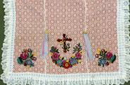 Palóc keresztelő takaró