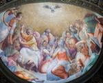 A Szentlélek leszáll az apostolokra