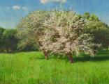 Szinyei Merse Pál: Virágzó almafa