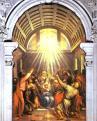 Tiziano: A Szentlélek eljövetele (1545)