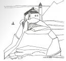 Török Ferenc: Castello, tusrajz