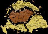 A szétdarabolt történelmi Magyarország Trianon után