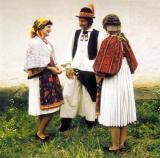 A drávamenti horvátok népviselete