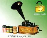 EDISON fonográf 1892-ből