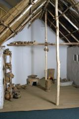 Reconstruction of the House from the Bronze Age in Túrkeve-Terehalom