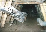 Taste of the underground section of the mine