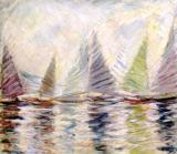 János Halápy: Coloured sailors, 1958