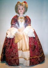 Historic clothing and doll
