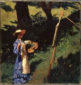 Ferenczy Károly: Festőnő