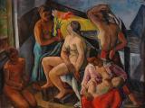 Perlott-Csaba Vilmos: Család, 1928