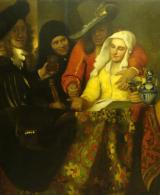 Balló Ede (1859–1936): Másolat Jan Vermeer után, 1913