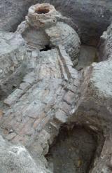 Régészeti feltárás a Csarnok téren