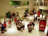 Kiállítási tér a Mobilisban