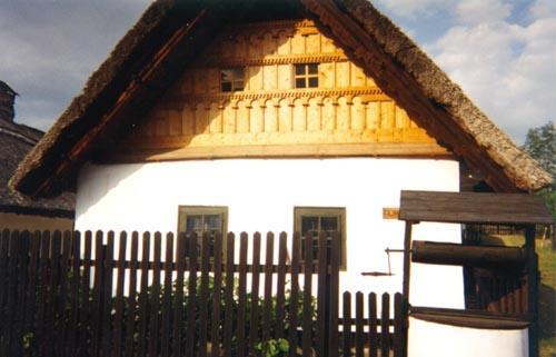 A tájház épülete