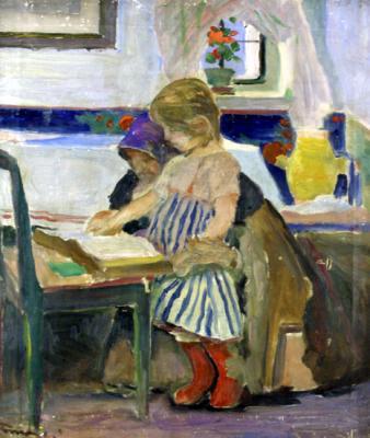 Tornyai János festménye