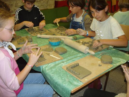Museum educational classes and activity