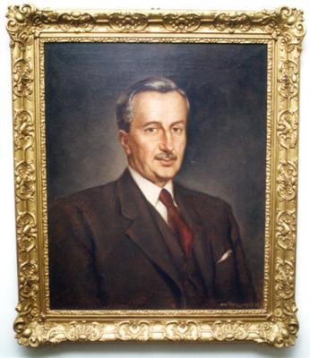 Dr. Papp Simon portréja a Papp Simon emlékszobából