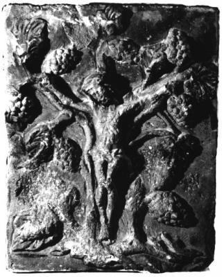 Szőlőtőkére feszített Krisztus