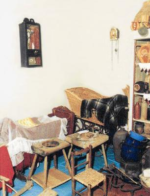 The ethnographic part of the exhibition