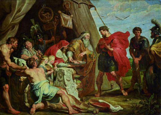 Peter Paul Rubens\r\nA jóslat kinyilatkoztatása a Decius Mus-sorozatból