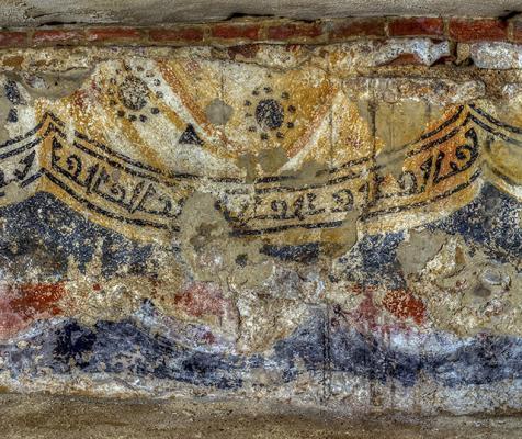 Korszakokon átívelő történelem: Freskó