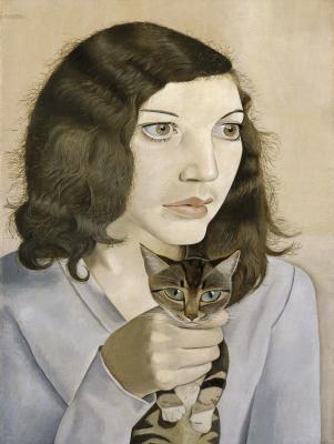 Lucian Freud: Lány kismacskával