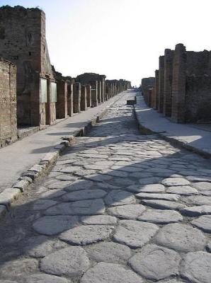 Pompeji utca